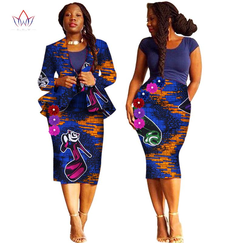 Épinglé sur vêtements en pagnes style africain