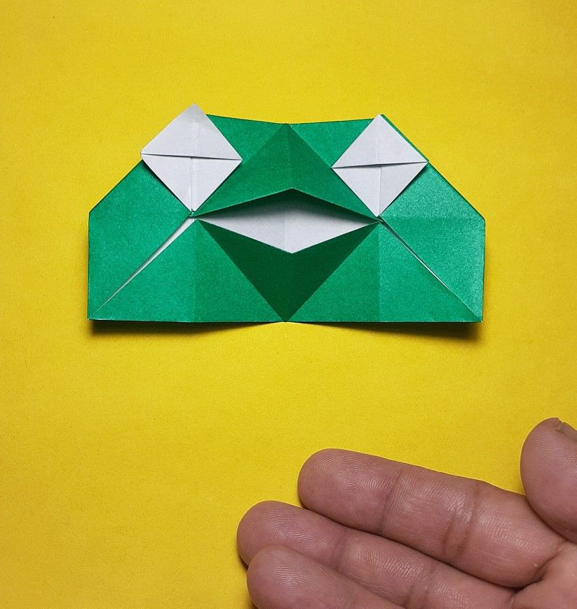 Photo of Talking Frog Origami TUTORIAL