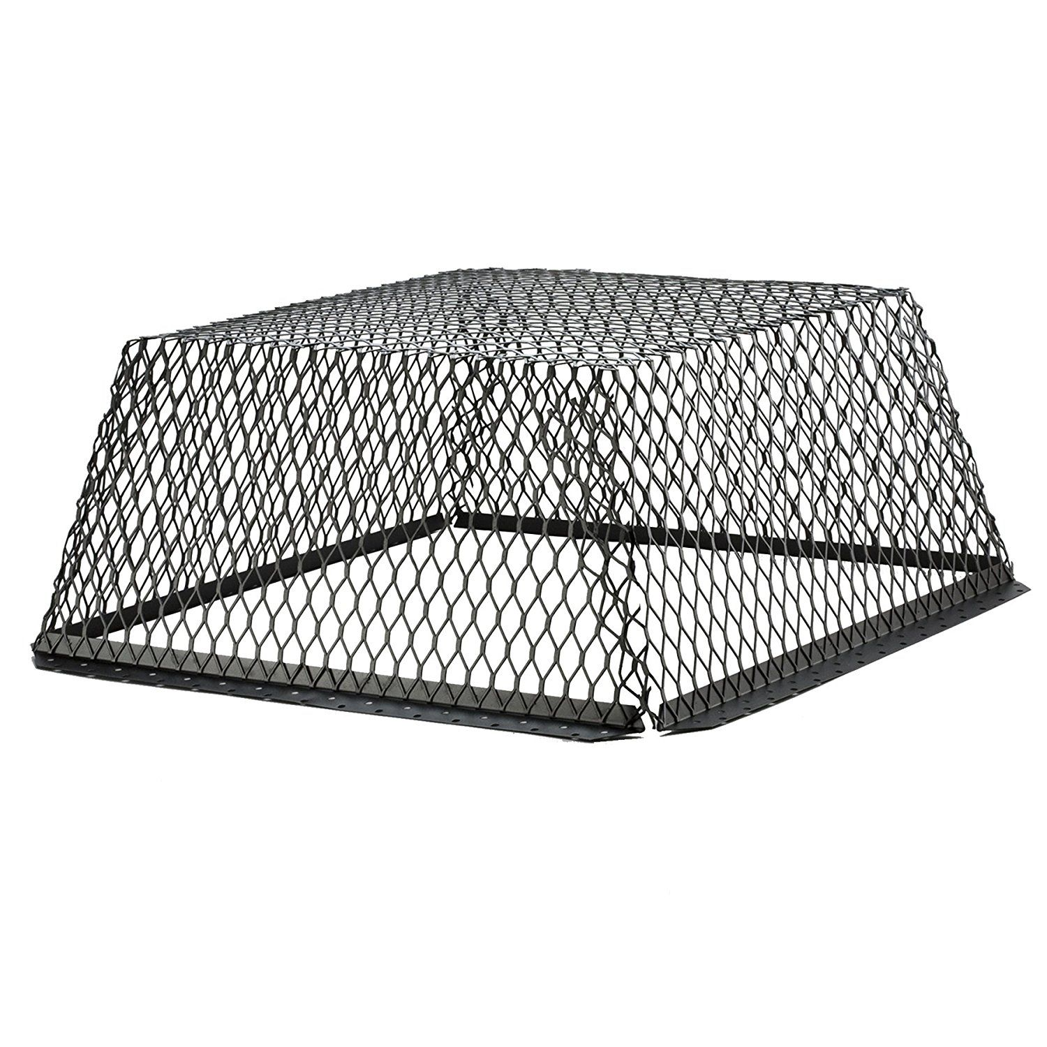Hy C Rvg3030g Galvanized Black Roof Ventguard With Wildlife Exclusion Screen 30 X 30 X 12 Find Out More Abou Roof Corrugated Roofing Sheet Metal Roofing