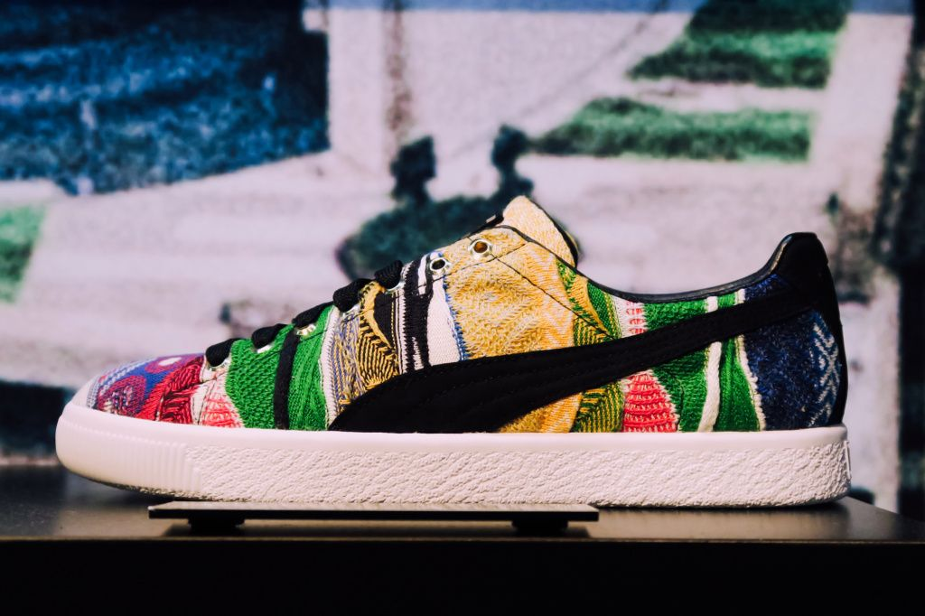 PUMA and COOGI Couple up for a '90s Revival of the Clyde