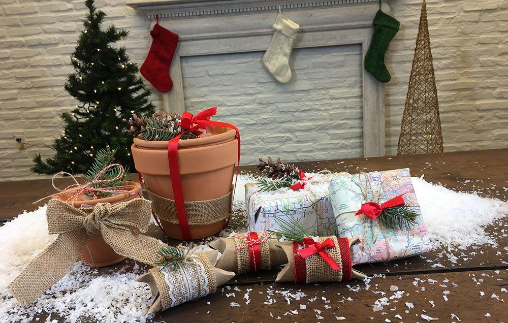 3 Surprising Household Items You Can Turn Into Upcycled Holiday Gift Wrap Https Www Rodalesorganiclife Com Hom Gift Wrapping Holiday Gift Wrap Holiday Gifts
