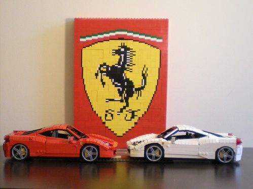 Ferrari 458 Italia (Red and White): A LEGO® creation by Ryan Link ...