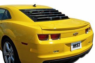 Msi Mach Speed Abs Rear Window Louvers 2010 2013 Camaro Coupe Camaro Coupe Camaro Accessories 2013 Camaro