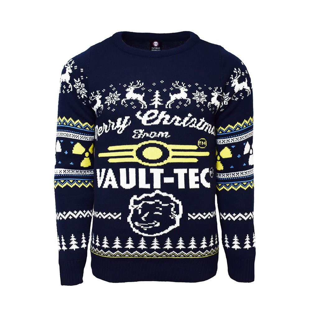 Official Fallout 4 Vault Tec Ugly Christmas Sweater #official ...