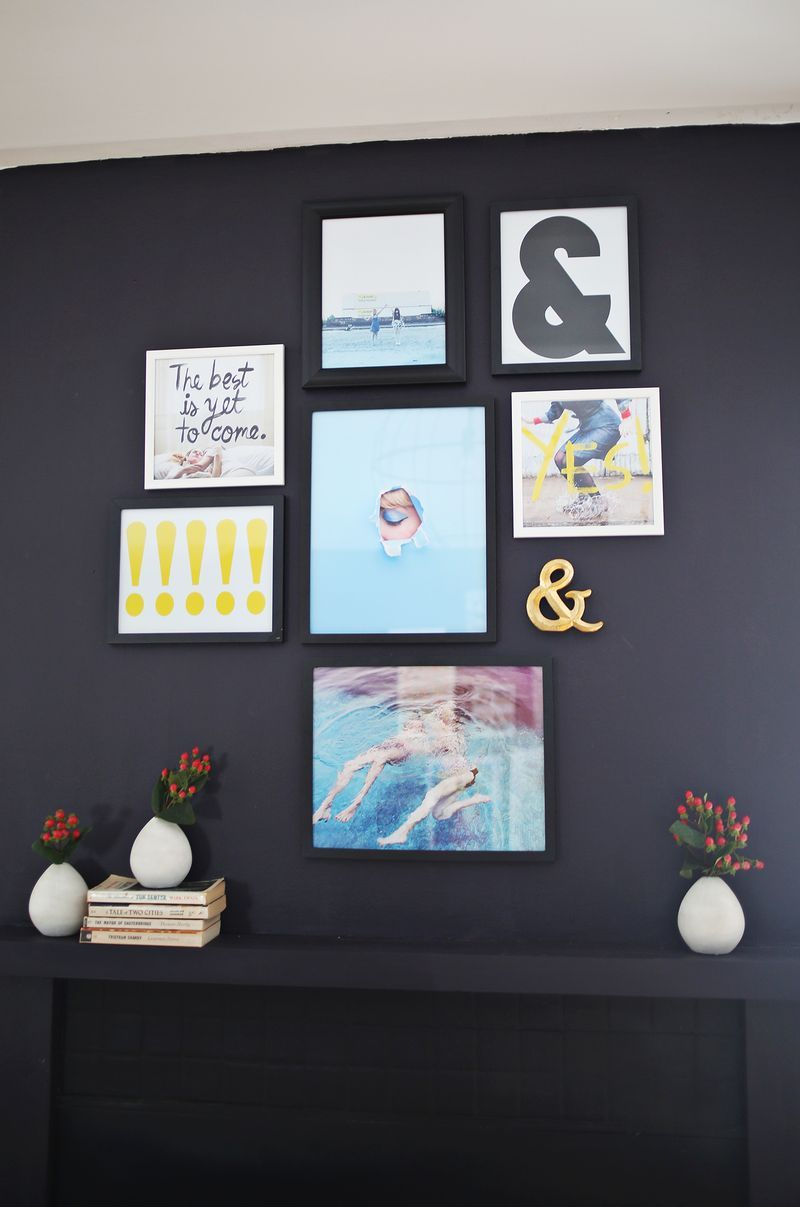 ideas for making your own art prints from abeautifulmess