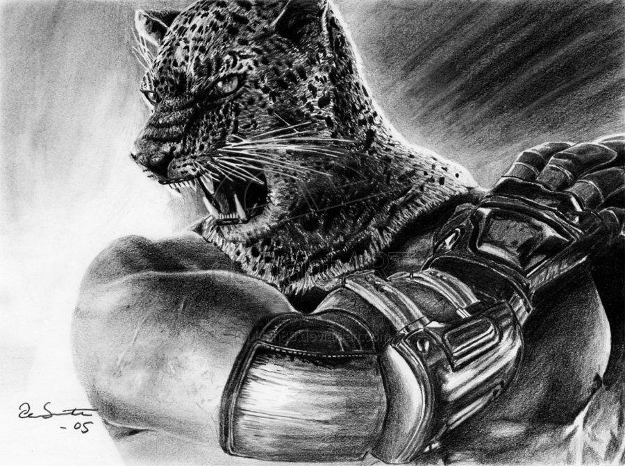 King From Tekken By Per Svanstrom On Deviantart Character Art Game Art Work Cartoons