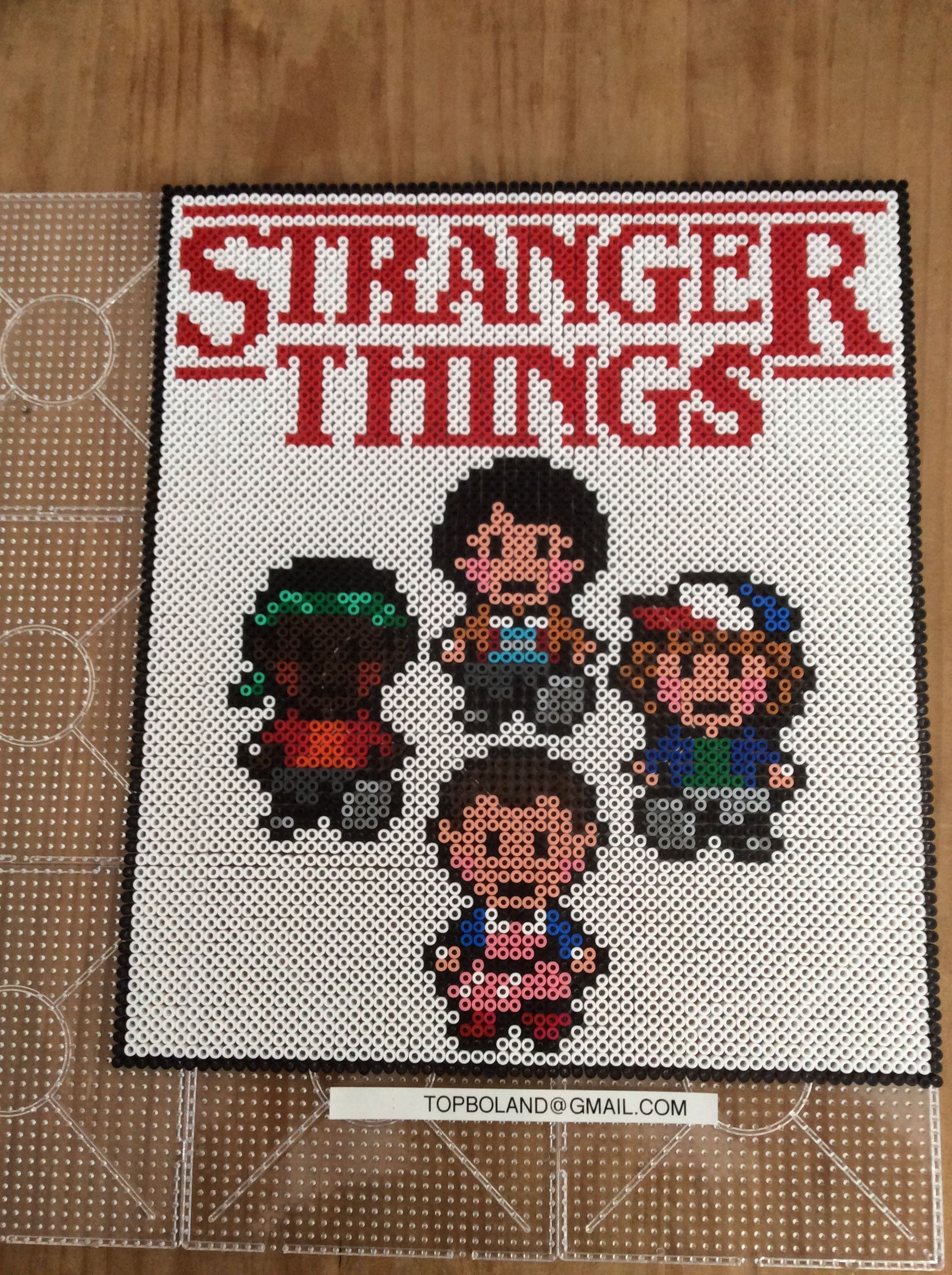 Stranger Things, Hama beads, Perler beads, Pixel art | Perler Bead ...