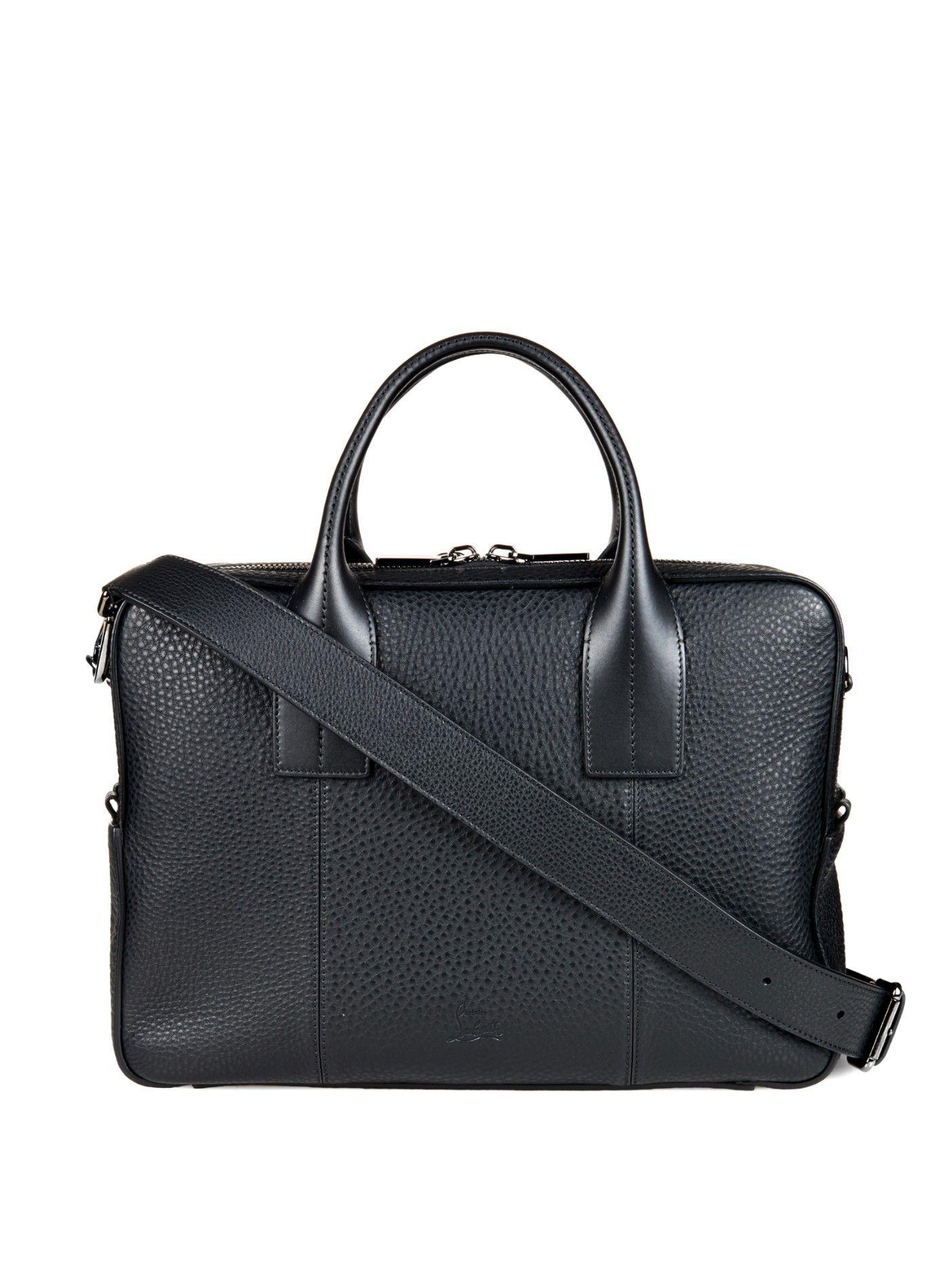 4df09826a09 Fredo leather weekend bag | Christian Louboutin | MATCHESFASHION.COM ...