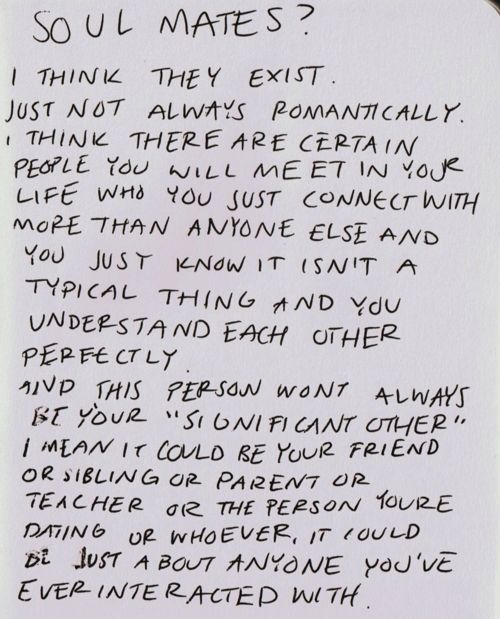 truth about soulmates