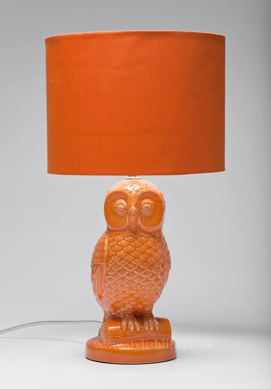 Delightful Archimedes The Owl Table Lamp