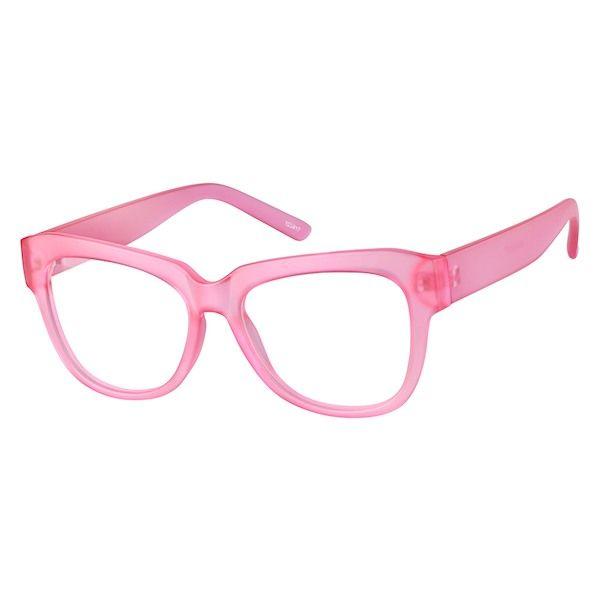 b14148234cd Zenni Womens Cat-Eye Prescription Eyeglasses Pink Tortoiseshell Other  Plastic 123917