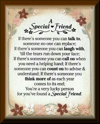 Pin by marian potgieter on friendship pinterest friendship and a special friend friendship quote thecheapjerseys Choice Image