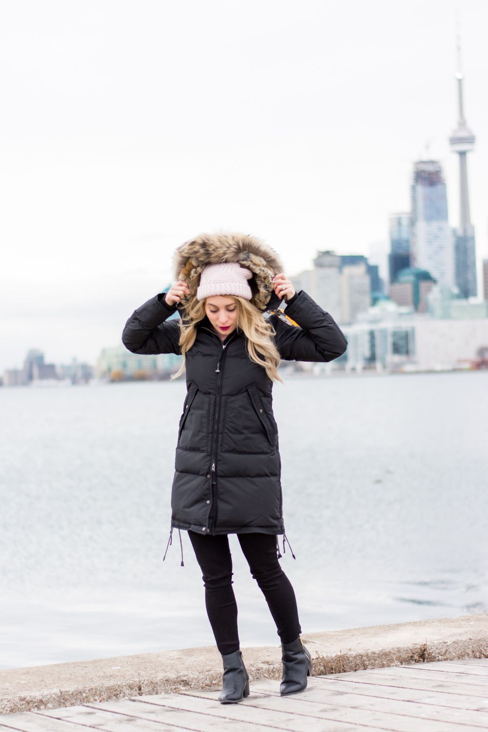 OOTD - ParaJumpers Long Bear Parka | La Petite Noob | A Toronto-Based Fashion and Lifestyle Blog.