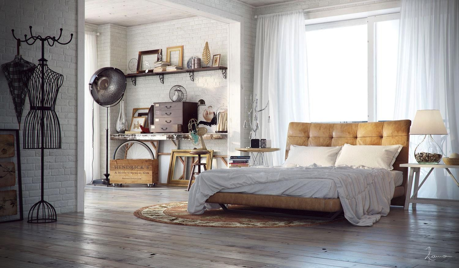 industrial style bedroom furniture. Check Out 20 Industrial Bedroom Designs. Design Is An Urban Signature That Combines Simplicity And Authenticity. Style Furniture