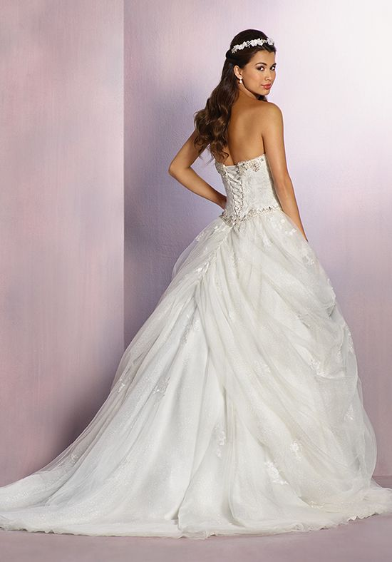 Alfred Angelo Disney Fairy Tale Weddings Bridal Collection 254 Belle Ball Gown Wedding Dress
