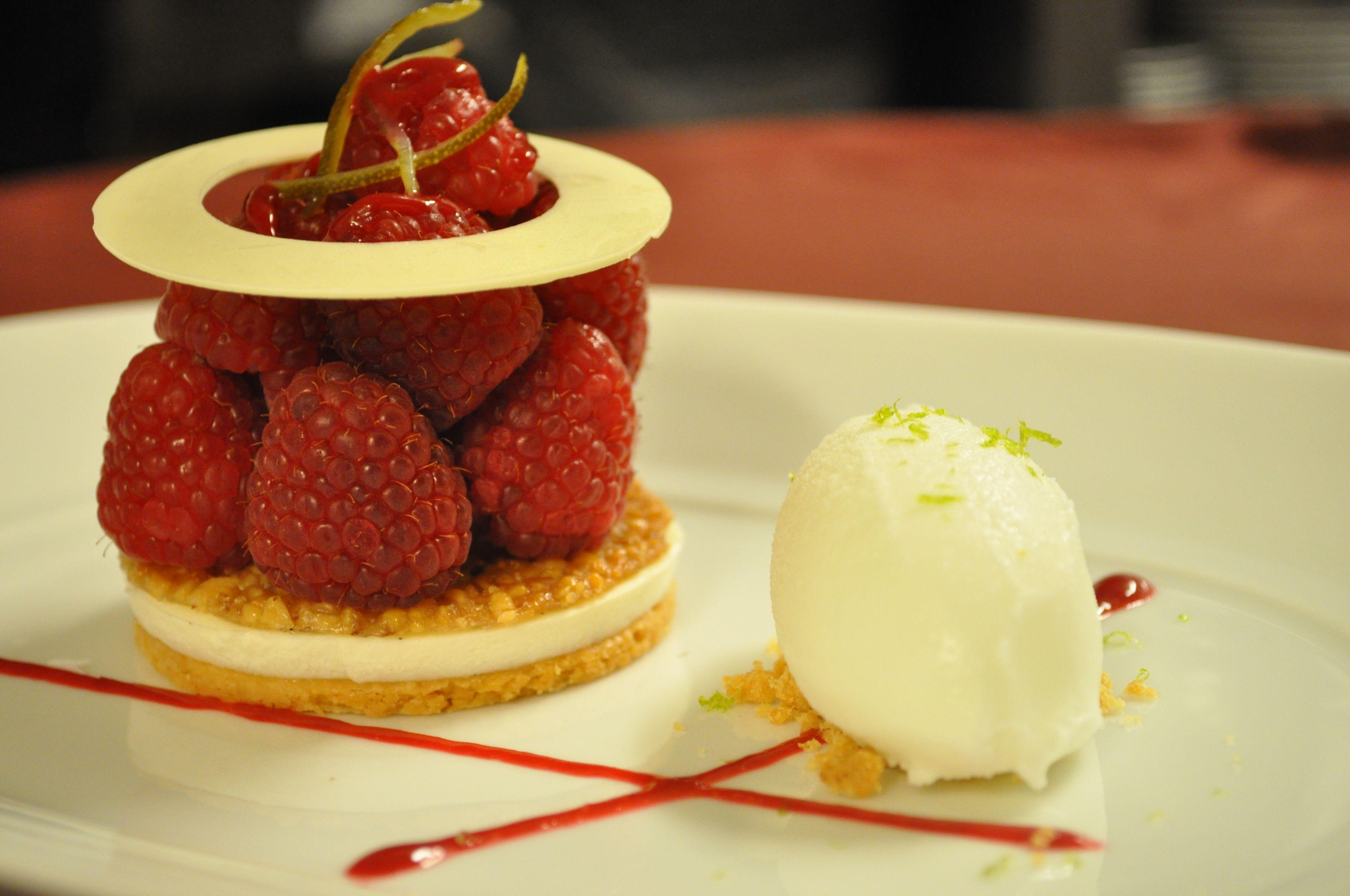 #dessert #fruit #raspberry #sweet
