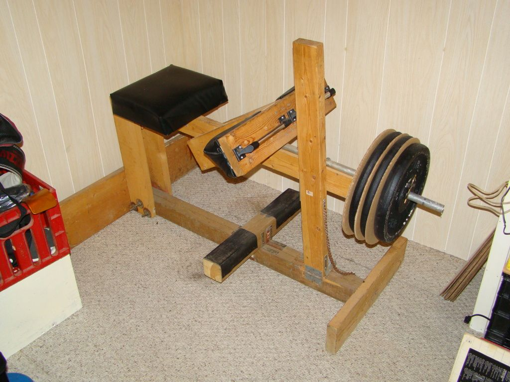 The Only Homemade Seated Calf Machine In The World