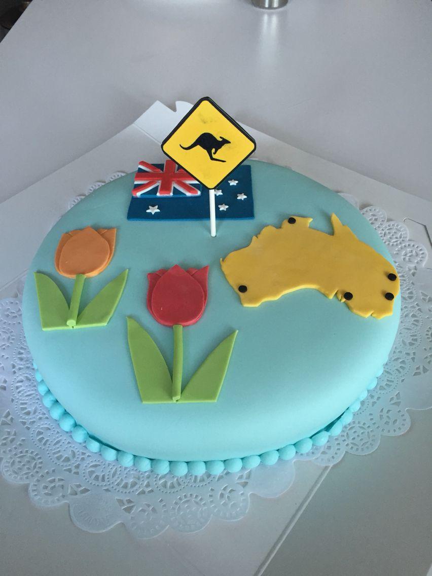 taart australie Australië Holland taart | Taarten, Made by Ikke | Pinterest taart australie