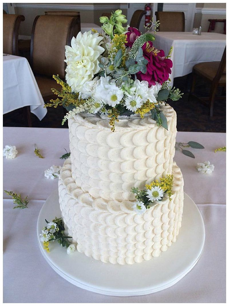 Little Miss Lovely Floral Design Flower Wedding Cake Topper Sugar Rush By