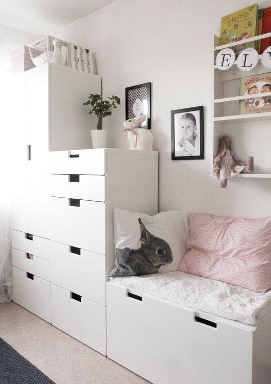 Ikea kinderzimmer mädchen ideen  isabanck: Barnrum ähnliche tolle Projekte und Ideen wie im Bild ...
