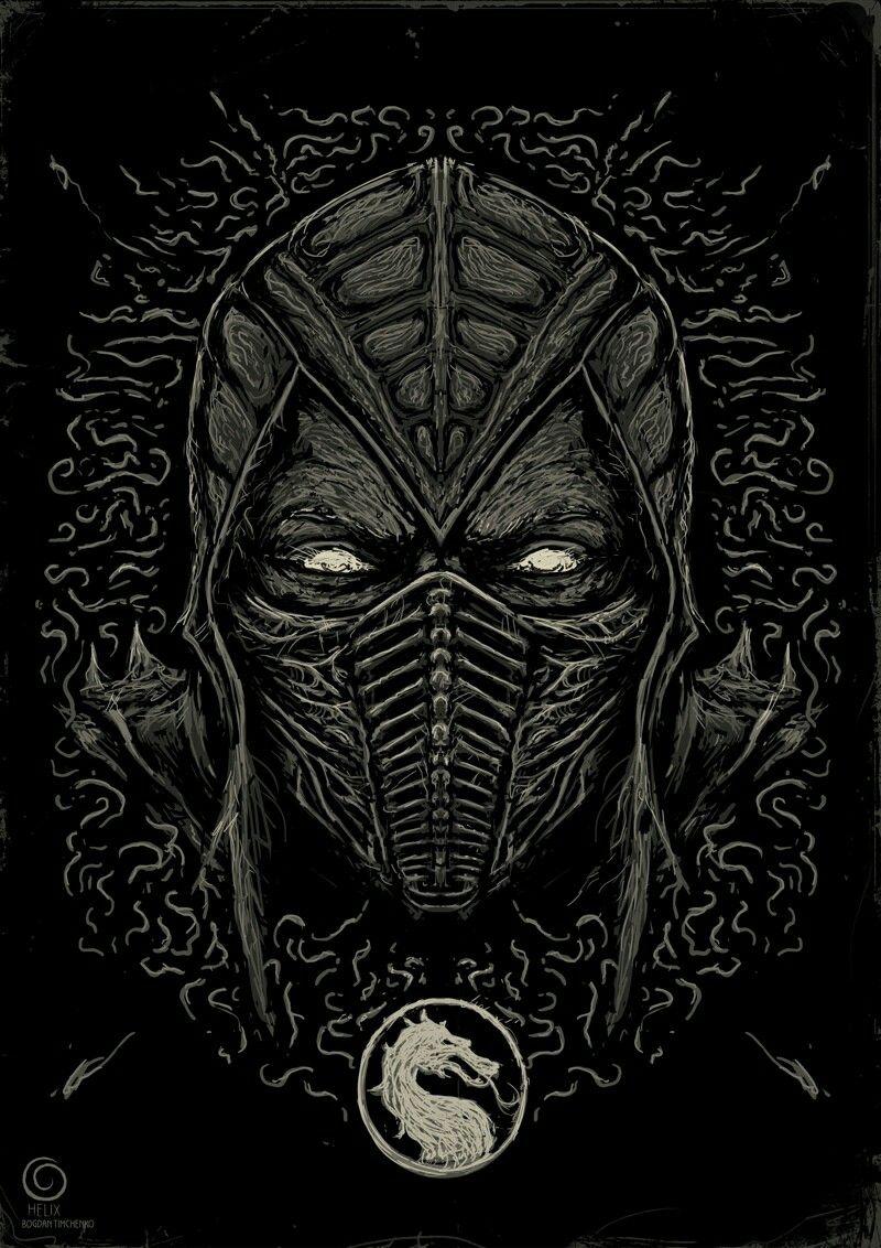 Pin by Susan on {Галерея} Mortal kombat art, Scorpion