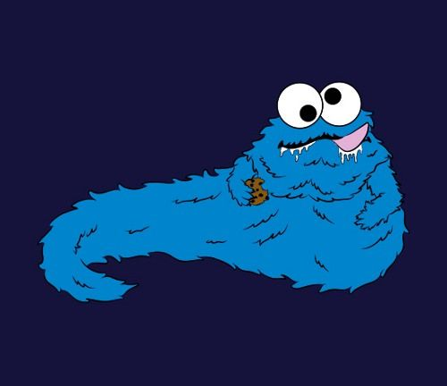 Cookie Monster The Hutt (With Images)