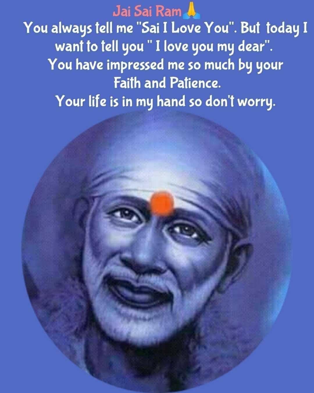 Pin By Sri Lakshmi On Sai Baba Quotes Sai Baba Quotes Sai Baba Miracles Sai Baba Wallpapers