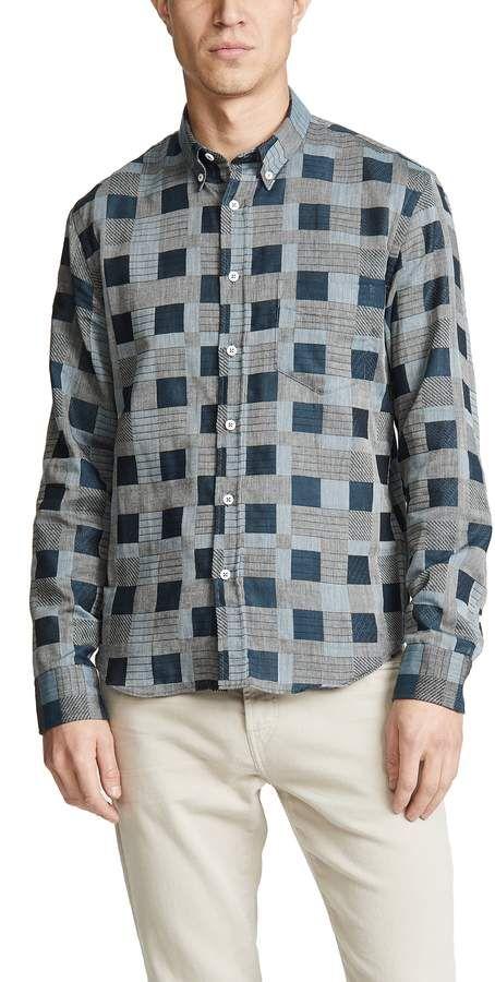 482e6a50bf8 Billy Reid Heirloom Plaid Shirt