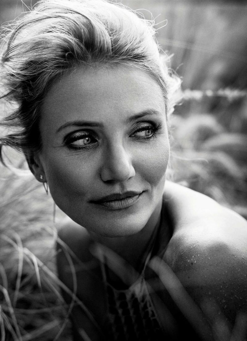 Cameron Diaz (1972) - American actress and former model. Photo by Vincent Peters,  2014