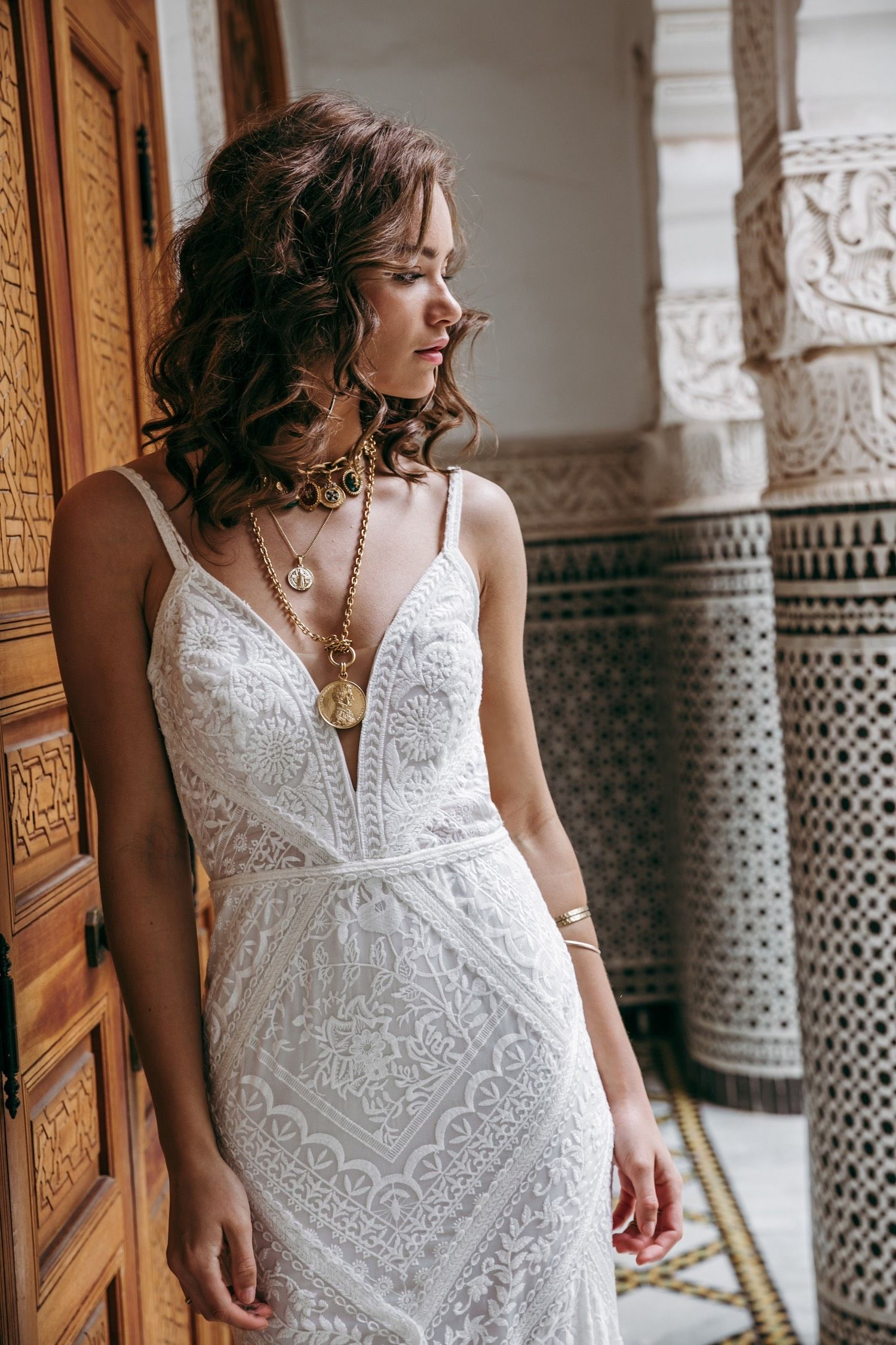 Boho wedding dress with sleeves  The bohemian bridal fashion you have been waiting for all this time