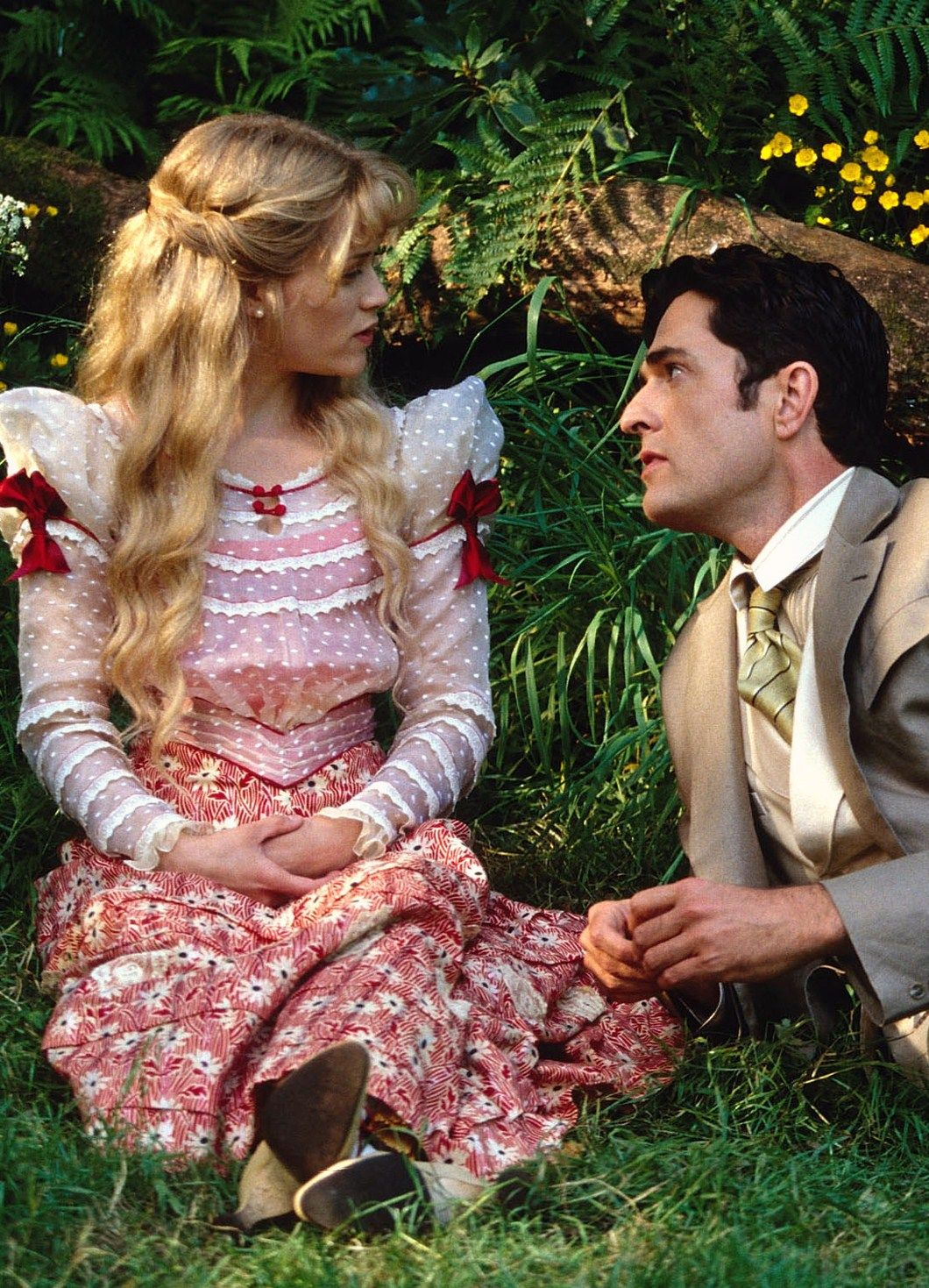 cecily cardew reese erspoon in the importance of being reese erspoon and rupert everett in the importance of being earnest