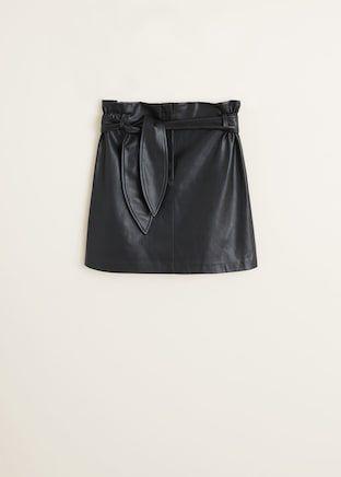 ed28e9987 Minifalda cinturón - Mujer en 2019   Faldas   Mini faldas ...