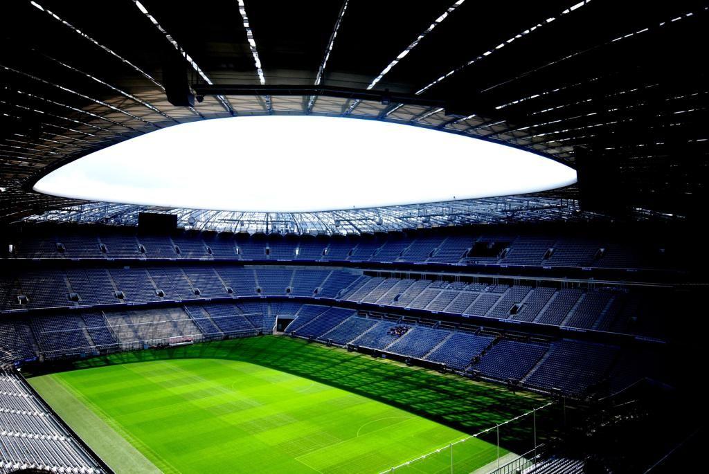 Allianz Arena Indoor HD Widescreen Wallpaper | allianz | Pinterest