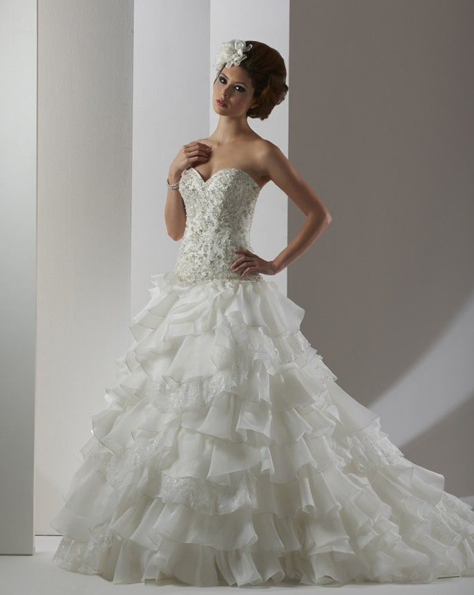 8303 - Essence Collection - Collections | Bonny Bridal This ball ...