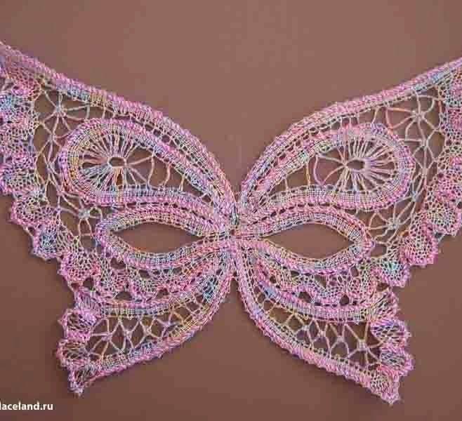 Irish crochet &: Бабочки для ирландского кружева | кружеволюбители ...