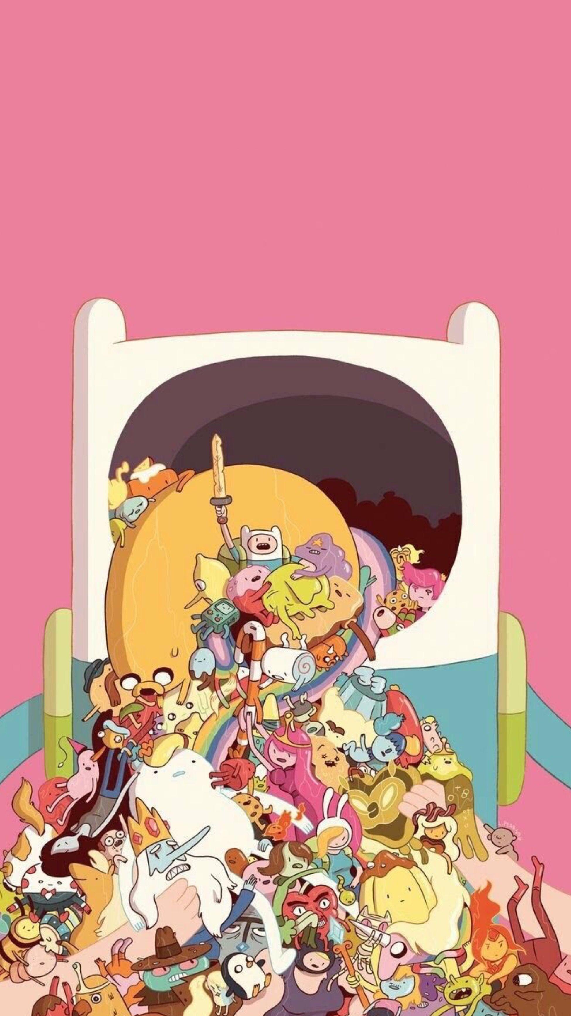 Pin by j on fonds d'écran Adventure time wallpaper