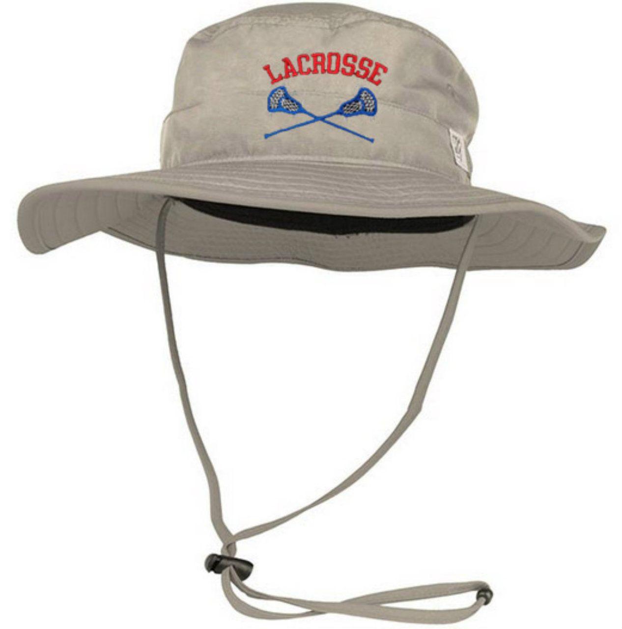 8087ecd90 Lacrosse Bucket Hat Stone | Embroidery Hat Ideas | Lacrosse sticks ...
