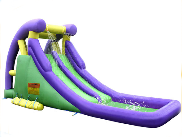 This 2 Story 20 Tall Dual Lane Water Slide Is Sure To Be A Hit At Your Party Or Event It Is A Perfect Addition For Water Slides Kids Slide Summer Pool