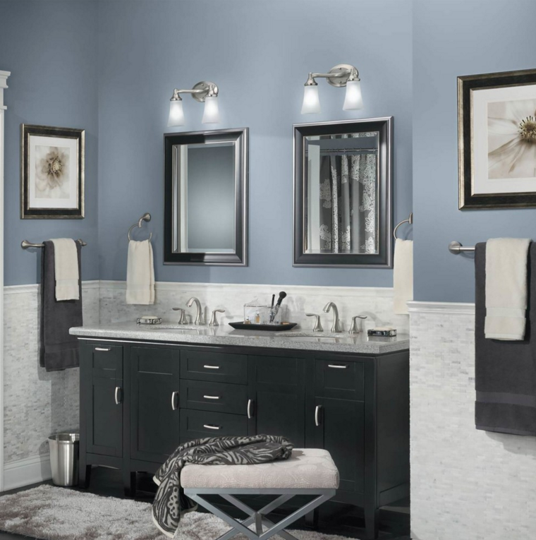 image result for carrara marble bathroom blue paint best on most popular interior paint colors for 2021 id=57533