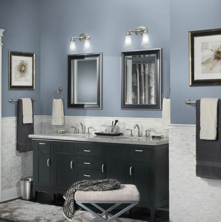 image result for carrara marble bathroom blue paint best on blue paint bathroom ideas exterior id=43839