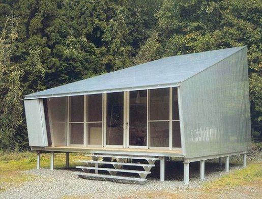 Aluminium cottage yamanashi japan toyo ito associates