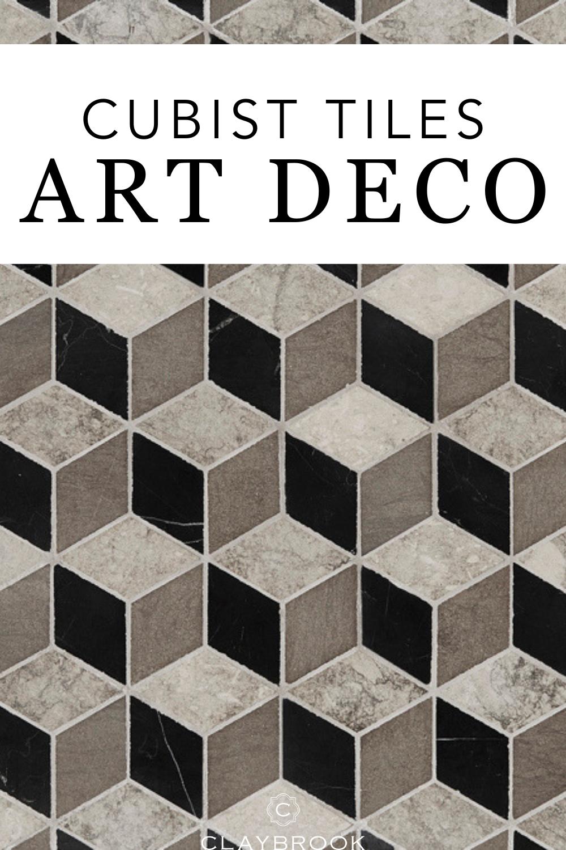 Cubist Art Deco Tiles Designs In 2020 Art Deco Tiles Art Deco Interior Design Minimalist Bathroom Design