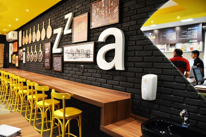 Nicks pizza by loko design rio claro brazil fast food