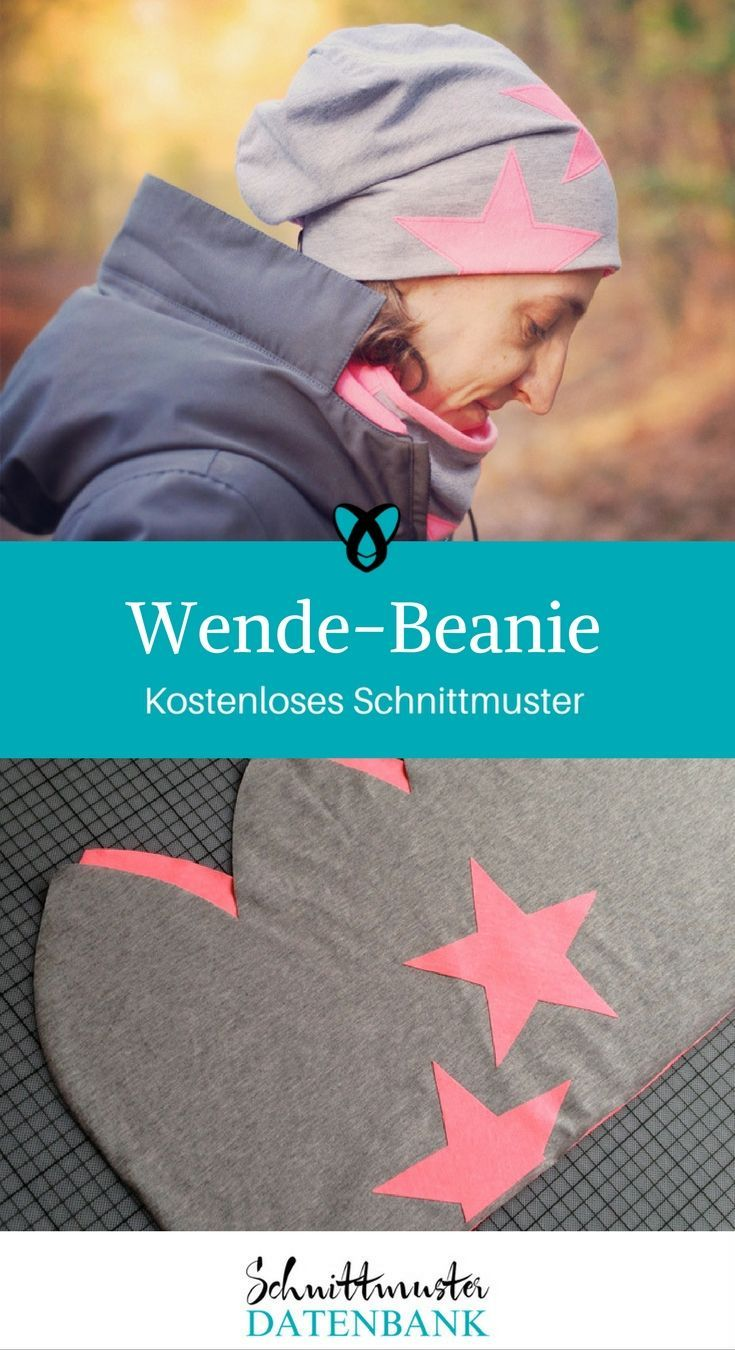 Photo of Turn beanie sewing pattern