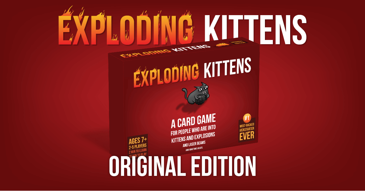 A Card Game For People Who Are Into Kittens And Explosions And