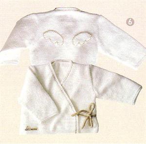 Bergere de France Babies Knitting Patterns Cross-my-heart Vest Knitting Pattern 115.781