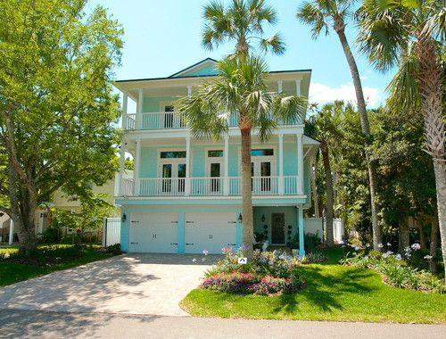 Key West Style Houses Design Pictures Remodel Decor And Ideas Page 2 House Exterior Color Schemes House Paint Exterior Beach House Colors