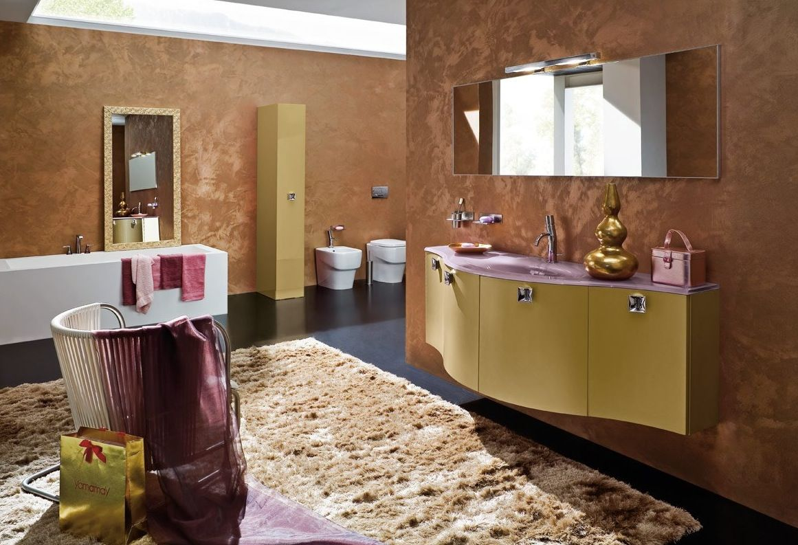 Stylish bathroom inspirations this year || Feel the wilderness straight from your home and match the latest interior design trends || #trends #luxuryhouses #luxuryhouse || Explore more: http://homeinspirationideas.net/category/room-inspiration-ideas/bathroom
