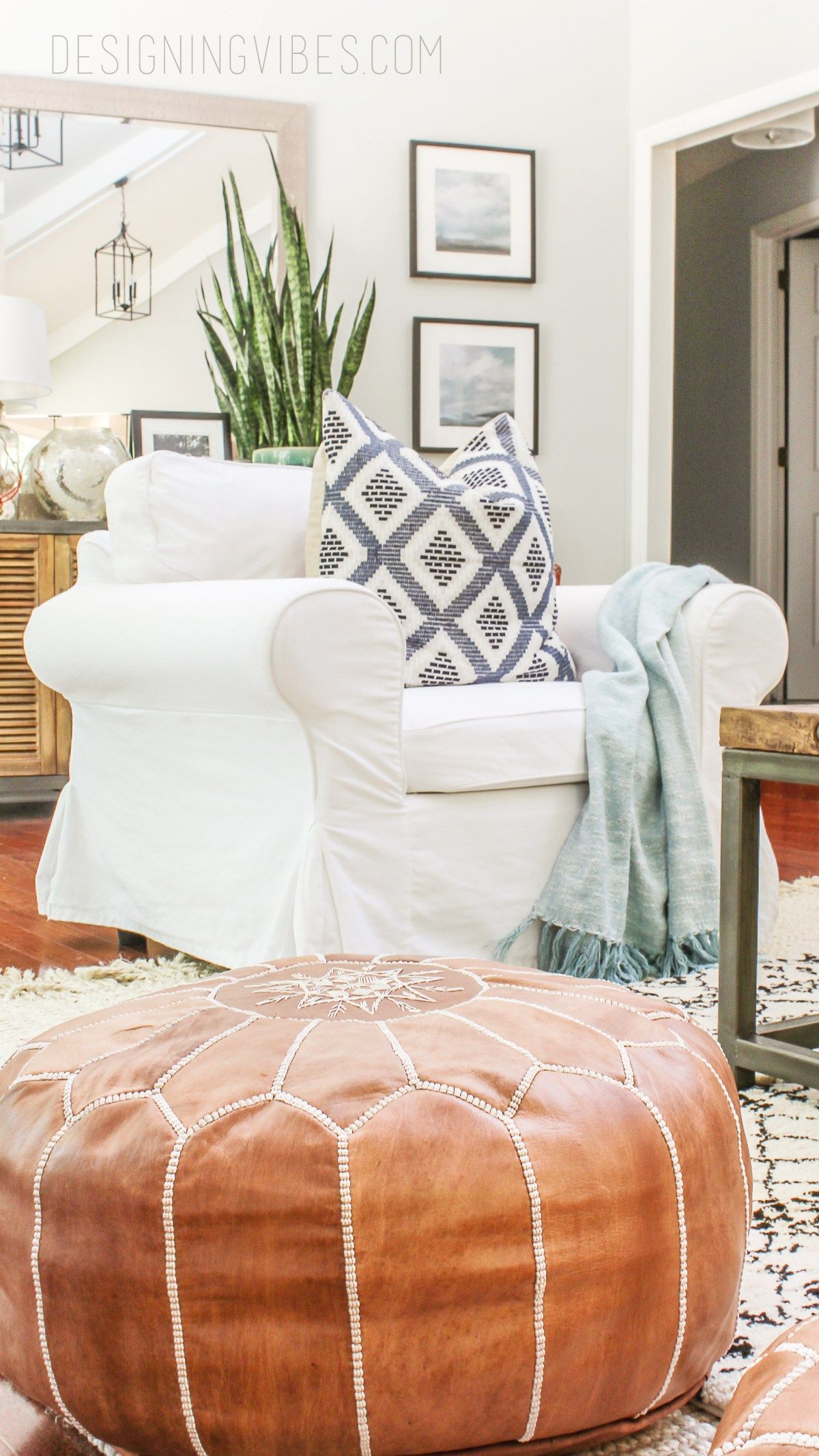 How To Get Real Leather Moroccan Poufs For