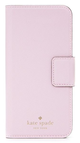the best attitude ff033 55f98 KATE SPADE NEW YORK Leather Wrap Folio Iphone 6 / 6S Case ...